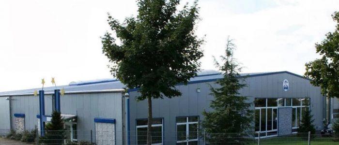 Das Bild zeigt den Standort der PSA Wasserarmaturen GmbH in Pirmasens